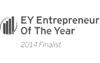 This is a picture of the EY Entrepreneur of the Year Finalist award for 2014 given to Monford Group.