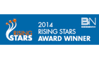This picture is of the award given to Monford Group for being the 2014 Rising Stars nominated by BN.