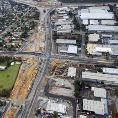 This photograph is of the major intersection that Monford Group was involved in the works around it. This is an example of the exceptional infrastructure Monford Group leads in.