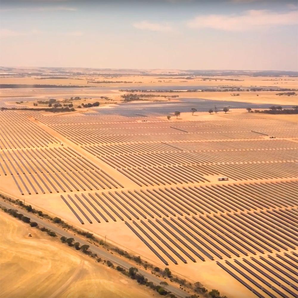 Merredin Solar farm Monford
